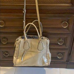 Gold Guess Handbag